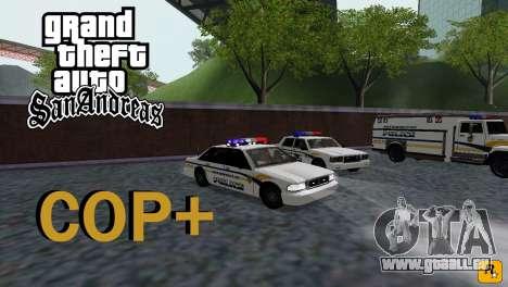 COP Plus für GTA San Andreas