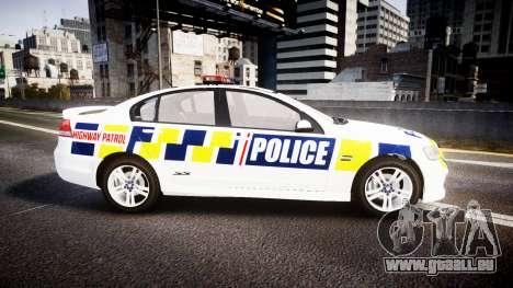 Holden VE Commodore SS Police HWP [ELS] für GTA 4 linke Ansicht