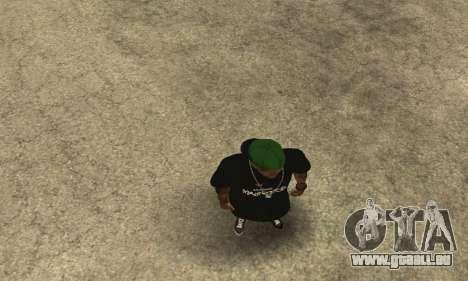 Groove St. Nigga Skin The Third pour GTA San Andreas cinquième écran