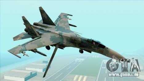 Sukhoi SU-35BM Mobius Squadron für GTA San Andreas