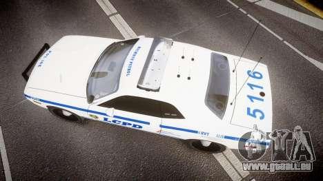 Dodge Challenger LCPD [ELS] pour GTA 4 est un droit