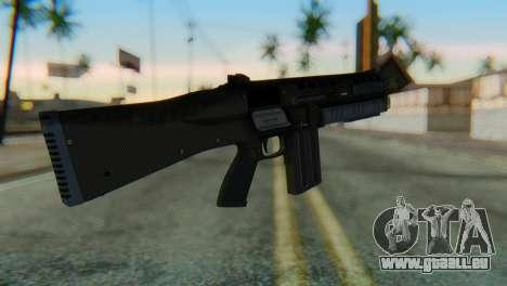 Assault Shotgun GTA 5 v1 pour GTA San Andreas deuxième écran