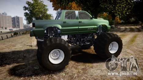 Albany Cavalcade FXT Monster Truck für GTA 4 linke Ansicht