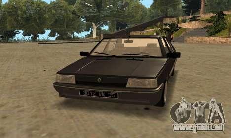 Renault 9 TSE 1992 pour GTA San Andreas laissé vue