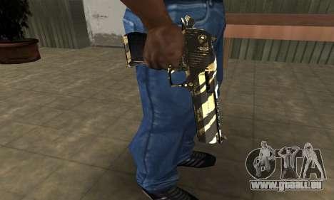 Gold Lines Deagle pour GTA San Andreas
