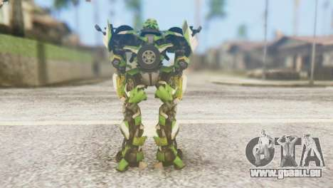 Ratchet Skin from Transformers v2 für GTA San Andreas dritten Screenshot