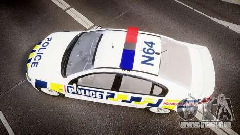 Holden VE Commodore SS Police HWP [ELS] pour GTA 4 est un droit