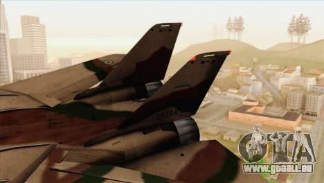 Grumman F-14A IRIAF pour GTA San Andreas sur la vue arrière gauche