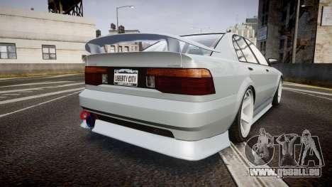 Maibatsu Vincent 16V Sport pour GTA 4 Vue arrière de la gauche