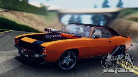 Chevrolet Camaro SS Dragster für GTA San Andreas