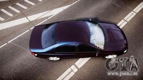 Ford Falcon XR8 2004 Unmarked Police [ELS] für GTA 4 rechte Ansicht