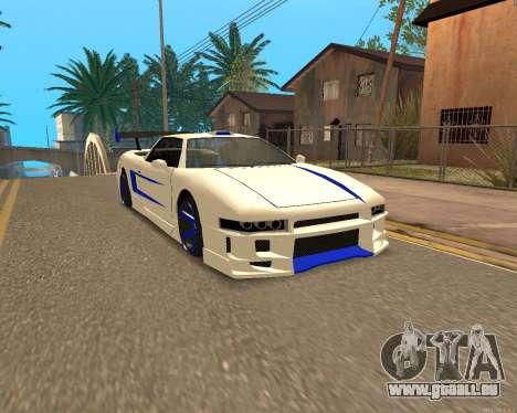 Infernus De La Peau pour GTA San Andreas
