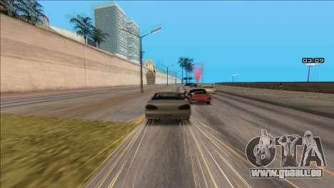 COP Plus pour GTA San Andreas troisième écran