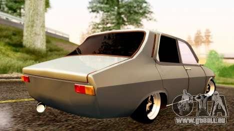 Dacia 1300 Tuning pour GTA San Andreas laissé vue