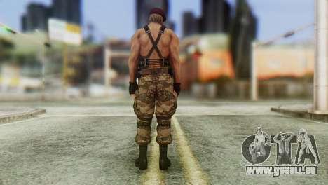 Jack Krauser Skin from Resident Evil für GTA San Andreas dritten Screenshot