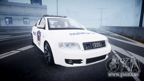 Audi S4 Serbian Police [ELS] für GTA 4