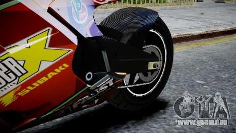 Bike Bati 2 HD Skin 1 pour GTA 4 Vue arrière