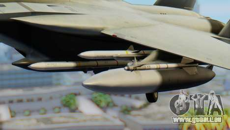 F-15C Eagle Luftwaffe JG 73 für GTA San Andreas rechten Ansicht