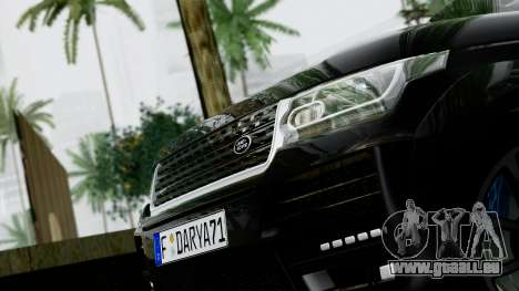 Range Rover Vogue Lumma Stratech für GTA San Andreas