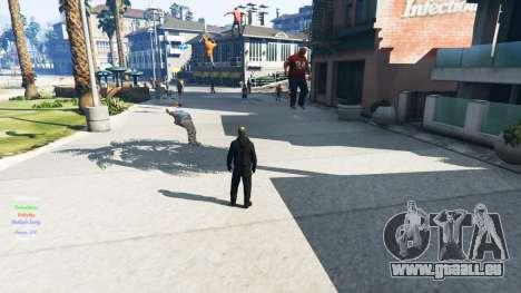 GTA 5 La télékinésie deuxième capture d'écran