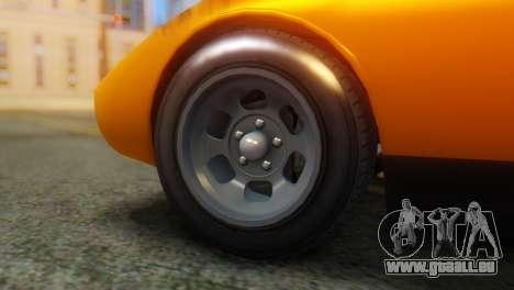 GTA 5 Pegassi Monroe pour GTA San Andreas sur la vue arrière gauche