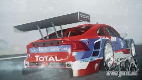 Volvo S60 Racing pour GTA San Andreas laissé vue
