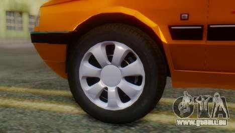 Peugeot 405 Slx Taxi pour GTA San Andreas sur la vue arrière gauche