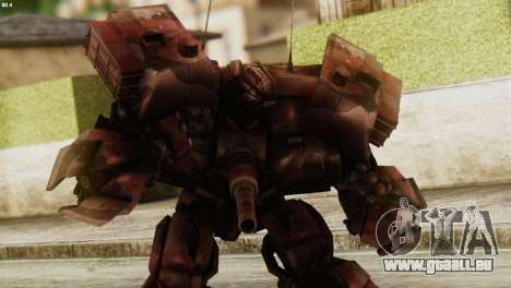 Watpath Skin from Transformers pour GTA San Andreas