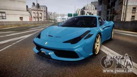 Ferrari 458 Speciale 2014 pour GTA 4