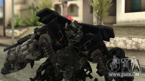 Ironhide Skin from Transformers v2 pour GTA San Andreas