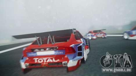 Volvo S60 Racing für GTA San Andreas Rückansicht