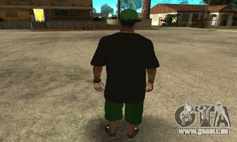 Groove St. Nigga Skin The Third für GTA San Andreas dritten Screenshot