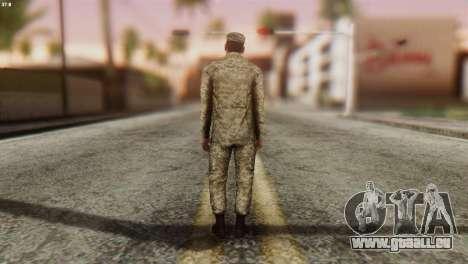 Ein Mitglied Der Streitkräfte Der Ukraine für GTA San Andreas dritten Screenshot