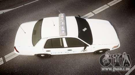 Ford Crown Victoria Metropolitan Police [ELS] pour GTA 4 est un droit