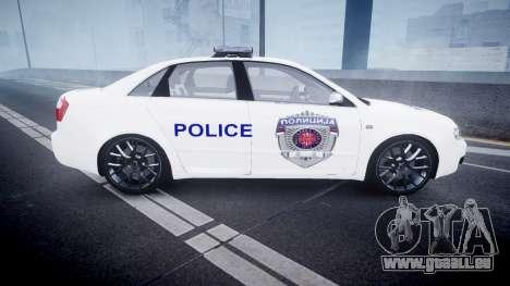 Audi S4 Serbian Police [ELS] für GTA 4 linke Ansicht