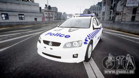 Holden Commodore Omega NSWPF [ELS] pour GTA 4