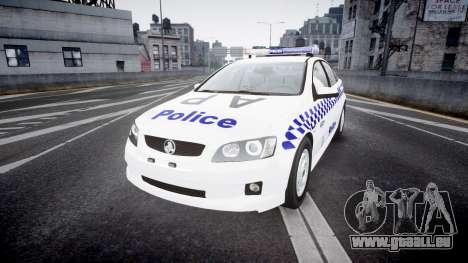 Holden Commodore Omega NSWPF [ELS] für GTA 4