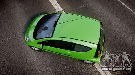 Citroen C1 2011 für GTA 4 rechte Ansicht