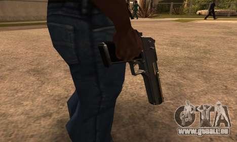 Deagle White and Black für GTA San Andreas zweiten Screenshot