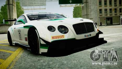 Bentley Continental GT3 2014 für GTA 4