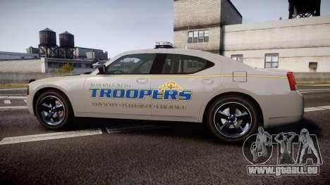 Dodge Charger Alaska State Trooper [ELS] für GTA 4 linke Ansicht