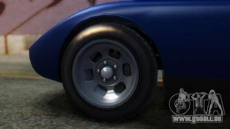 GTA 5 Pegassi Monroe IVF pour GTA San Andreas sur la vue arrière gauche