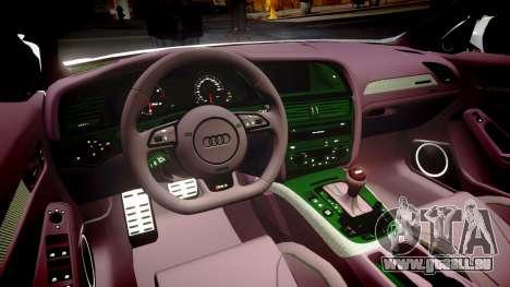 Audi S4 Avant Belgian Police [ELS] für GTA 4 Seitenansicht