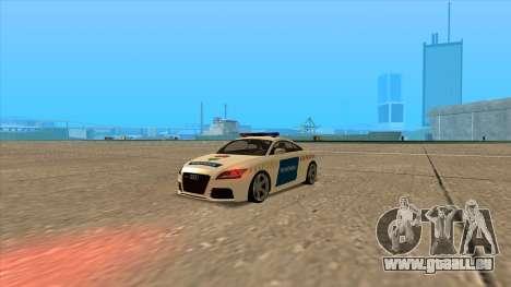 Audi TT RS 2011 ungarischen Polizei für GTA San Andreas