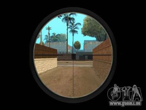 Chameleon Weapon Pack pour GTA San Andreas huitième écran