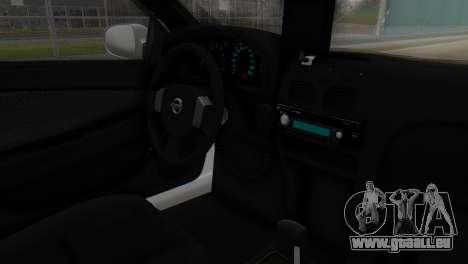Nissan Almera Iraqi Police pour GTA San Andreas vue de droite