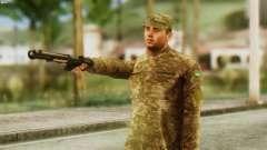 Un Membre Des Forces Armées De L'Ukraine