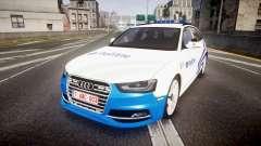 Audi S4 Avant Belgian Police [ELS]