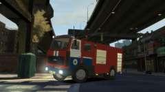 MAZ 533702 le Ministère des situations d'urgence