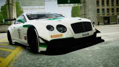 Bentley Continental GT3 2014 pour GTA 4